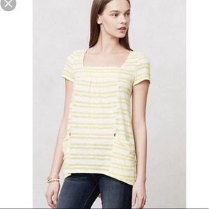 Anthropologie Meadow Rue striped Marin tunic